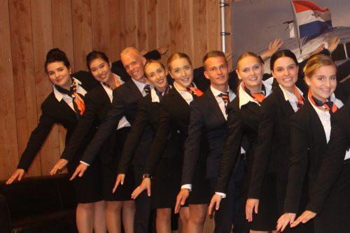 Start schooljaar Stewardess