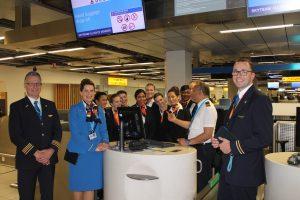 TAT feliciteert KLM met 100 jarig bestaan