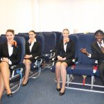 Lotte wordt KLM grondstewardess
