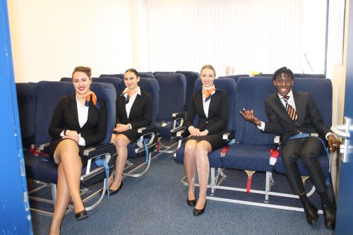 Lotte wordt KLM grondstewardess